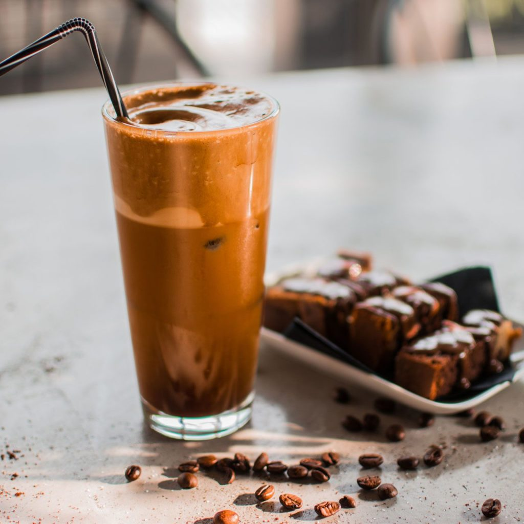 Nutella Frappuccino - Special Iced Coffee Beverages - Nobell Cafe Γαλάτσι